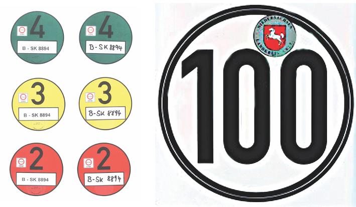 Miljømærke / Tempo 100